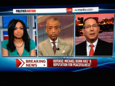 Ken Padowitz with Al Sharpton and Judge Faith Jenkins