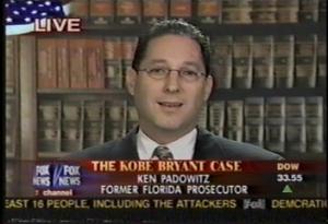Ken Padowitz on FOX speaks about Kobe Bryant