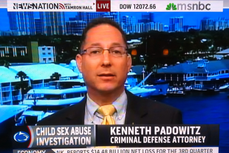 Broward Criminal Defense | Ken Padowitz Destroys Sex Abuse Allegations in Negligent Investigation