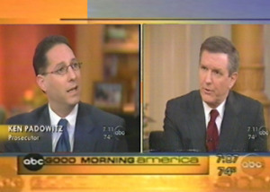 Criminal Attorney of Fort Lauderdale Kenneth Padowitz on Good Morning America with Charlie Gibson