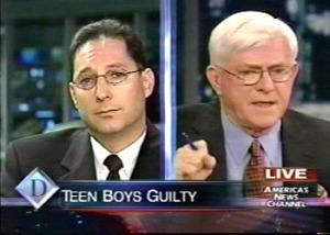 Ken Padowitz and Phil Donahue discuss Jury verdict   Fort Lauderdale Criminal Defense Attorney