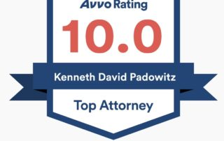 KENNETH PADOWITZ AVVO 10.0 RATING | TOP ATTORNEY