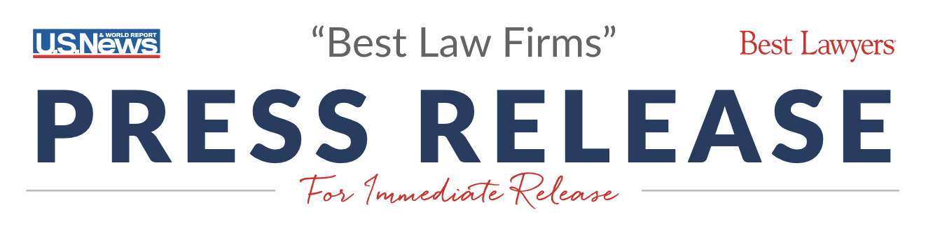 "2021 ""Best Law Firms"" Public Announcement"
