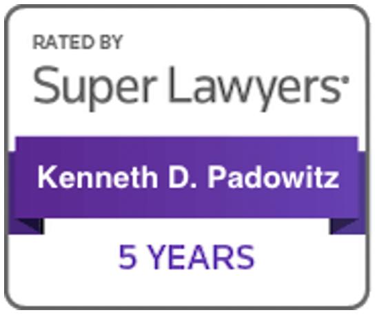 Kenneth Padowitz on SuperLawyers